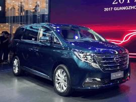 2017上海车展:传祺GM8广州车展正式亮相 这下GL8不寂寞了!