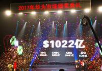 华为曝光2018年销售目标:破千亿美元
