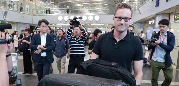 多国记者赴朝 见证拆除核试验场