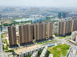 高空航拍  俯瞰南宁兴宁老城区现状