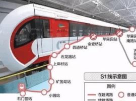 区域利好 北京将建7条道路接驳磁浮线路S1线
