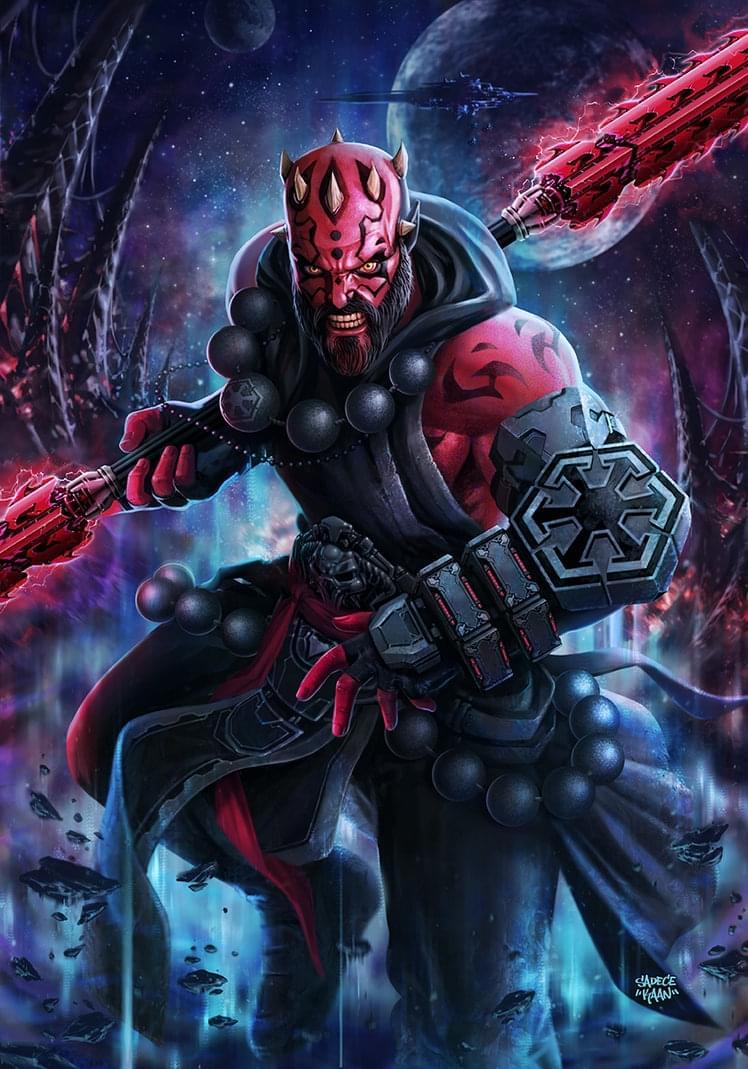 当暗黑3遇上星球大战:达斯·摩尔版武僧作品展示