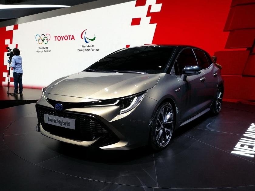 两厢版卡罗拉 丰田发布全新一代Auris