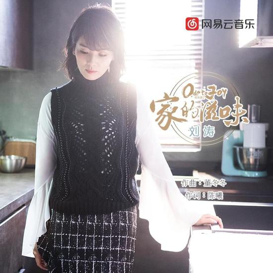刘涛《家的滋味》封面