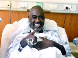 苏丹男子截瘫两年在济重获新生