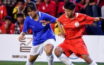 全国青少年校园足球大赛武汉赛区比赛落幕