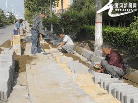 闻喜县加大城建环境治理力度 改善城市环境