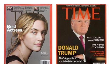 川普《时代》封面竟然是假货!杂志已要求销毁