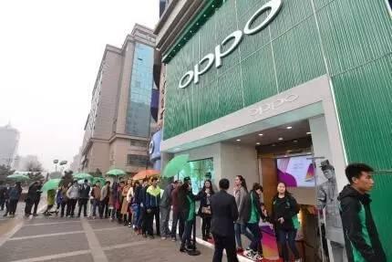四、五线城市销量占4成 OPPO是如何挤掉小米的?的照片 - 3