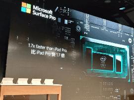 微软将Surface Pro与iPad Pro比并不公平