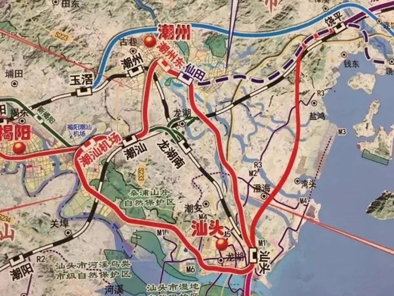 韩东新城交通升级 未来畅享潮汕揭半小时生活圈