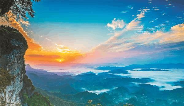 重庆珍档 | 摩围山有什么魅力 白居易刘禹锡黄庭坚都成