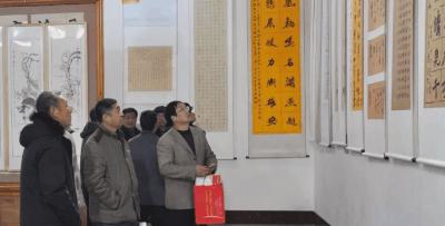 """100余幅书画作品亮相""""雄安之春""""书画展"""