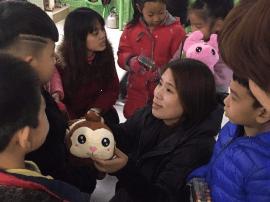 邯郸:爱心小礼物温暖留守儿童