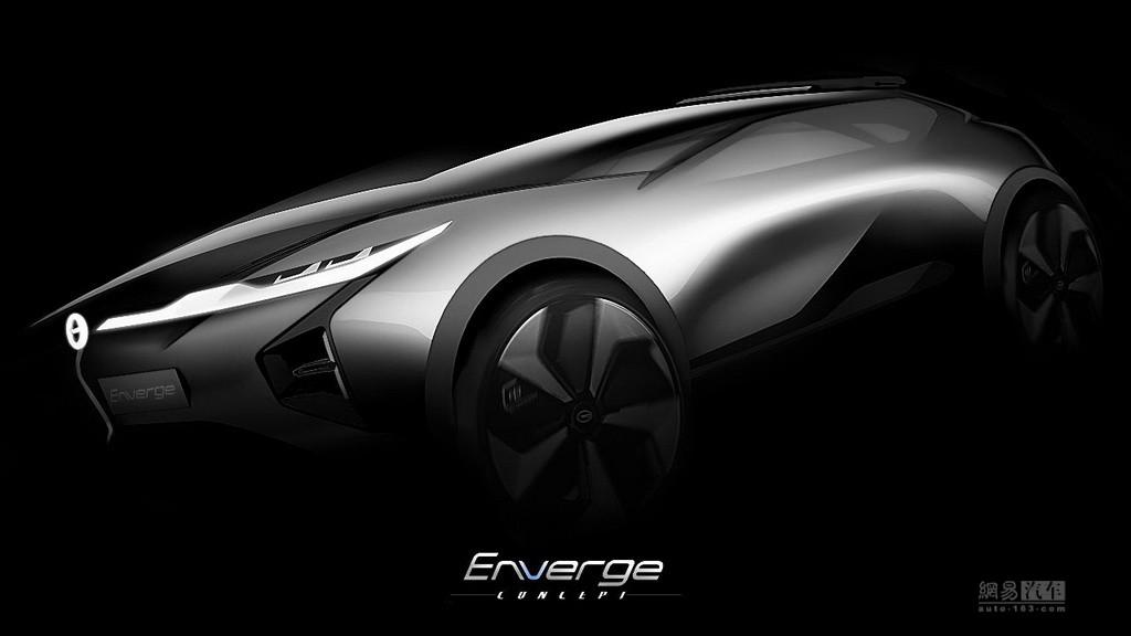 北美车展首发 广汽Enverge概念车预告图