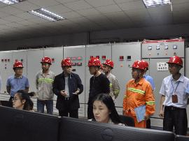 林进球率队开展重点企业安全生产大检查