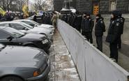 乌克兰民众抗议进口车限令
