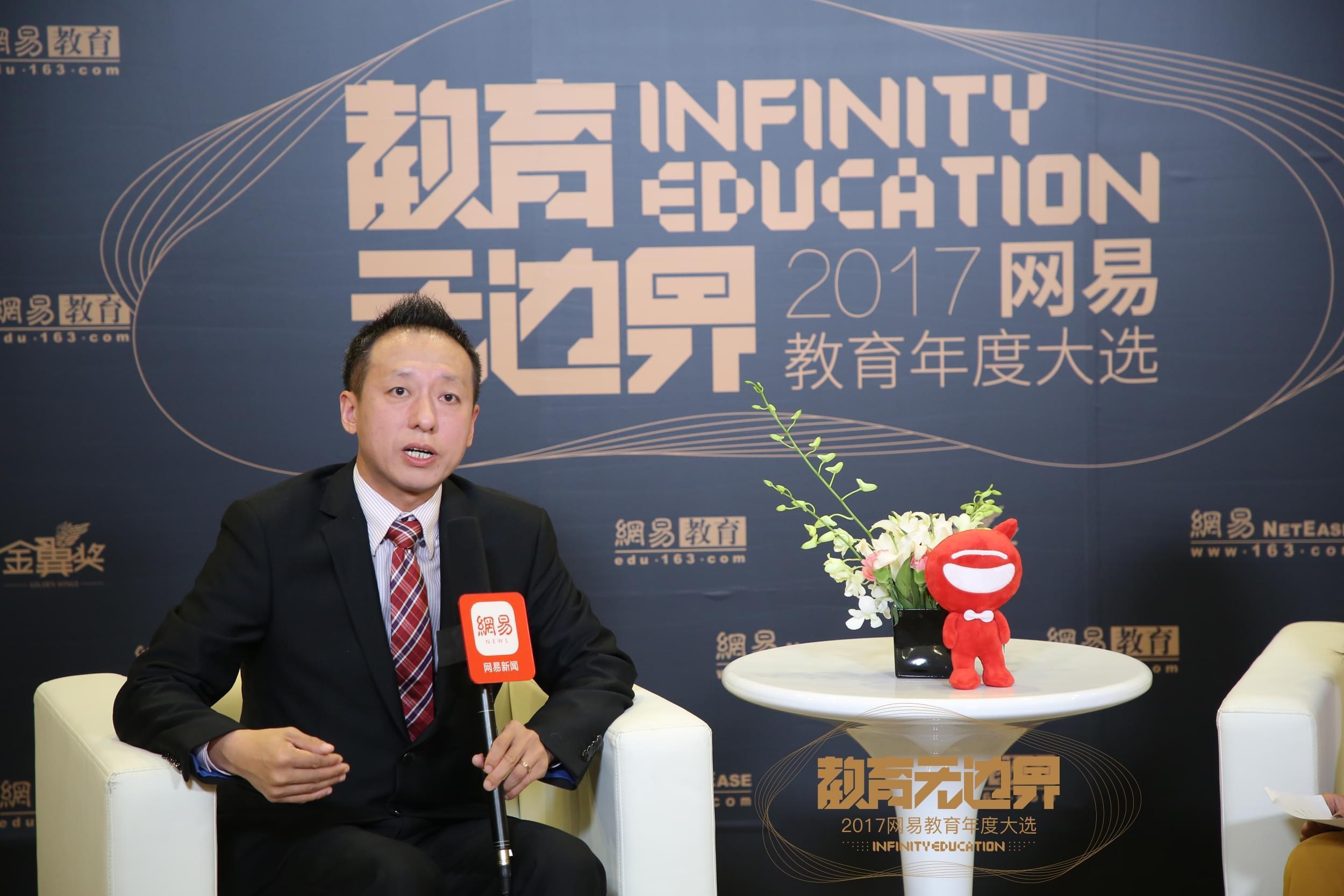 爱贝国际少儿英语总部市场发展总监 初大龙先生