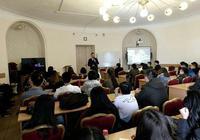 金吉列留学首席运营官在圣彼得堡国立大学首次公开演讲