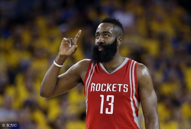 NBA最新夺冠赔率-数据利好 火箭要力压勇士夺冠?
