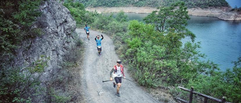 越山丘跨平原 门百汇跑两项赛踏春风而来