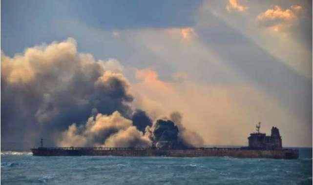 交通部辟谣:东海撞船油轮并未涉及重质原油