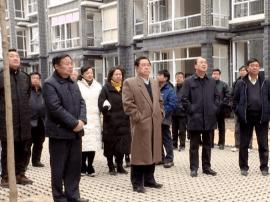 三门峡市政协委员视察卢氏县易地扶贫搬迁工作