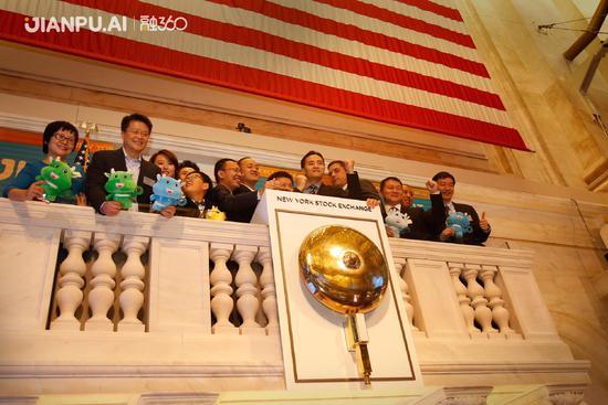 融360在美国上市首日上涨5%,市值35.3亿美元
