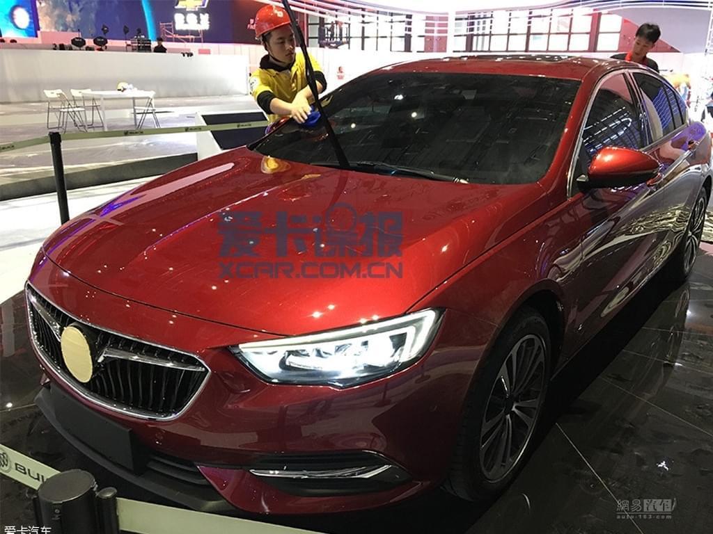 2017上海车展探馆:别克全新君威实车图
