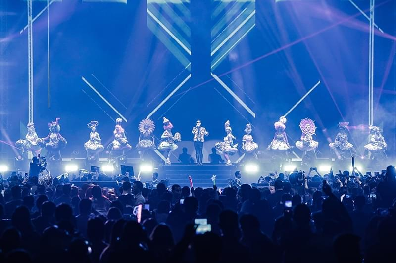 """黎明澳门巡演歌迷""""花式""""表白1月6日将开唱上海"""