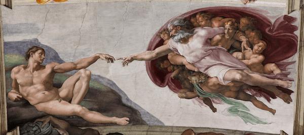 米开朗基罗对决达·芬奇 诸神降临的时代他们只是凡人