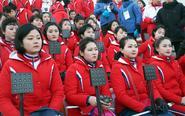 朝鲜演出团现身冬奥闭幕式