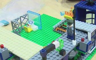长治2018年首届幼儿机器人创意搭建大赛举行