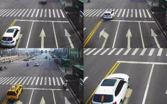 长治这些车辆不按导向行驶被抓拍!