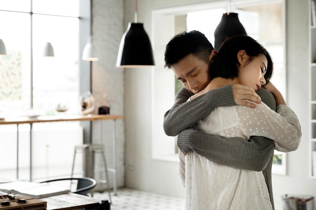 李荣浩与马思纯。
