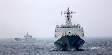 新年度首次编队实战化训练 6舰艇开赴南海