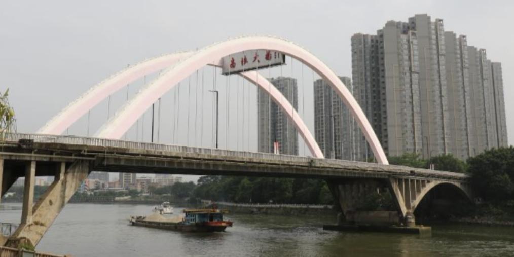 封了半年的高埗大桥今天终于开通了!