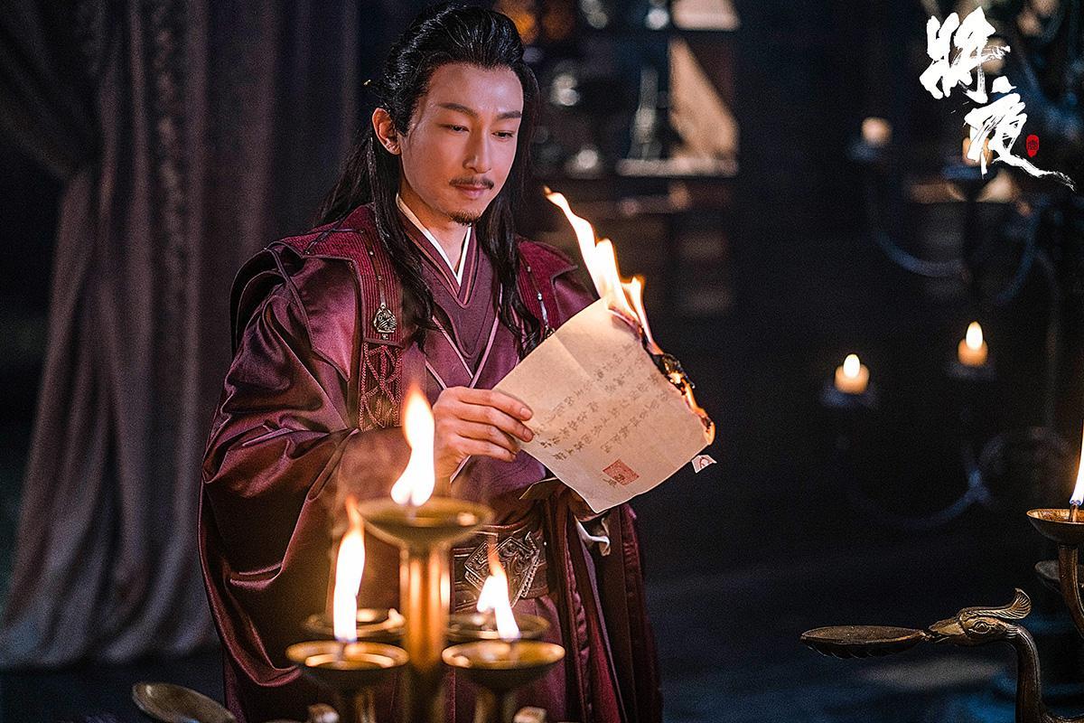 苏可《将夜》杀青饰大唐亲王 众多戏骨同台飚戏