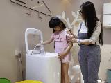 卡萨帝2款母婴洗衣机亮相2017CBME 重塑洗护行业