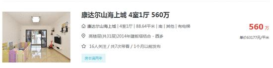 易眼看房| 西乡盘时隔3年推二期 临近碧海均价达6万/平!