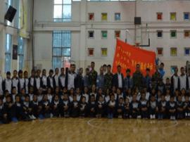 长春新立社区携手汽车区第一中学参观汽开区消防大队