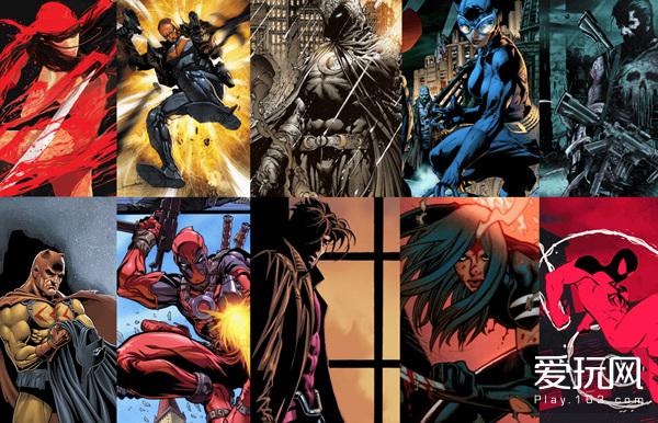 DC和漫威旗下和有不少反英雄角色