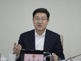 潼南区长王志杰:加快建设现代化经济体系