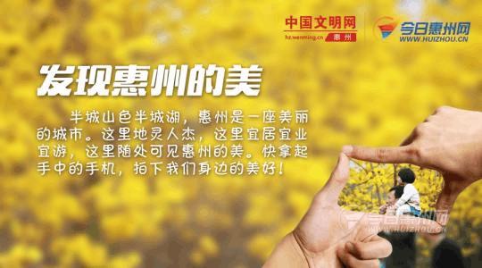 惠州拥抱你!百姓眼中的惠州城市口号是怎样的?
