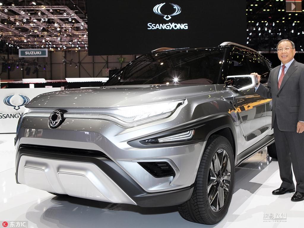 2017日内瓦车展: 双龙XAVL中型SUV概念车