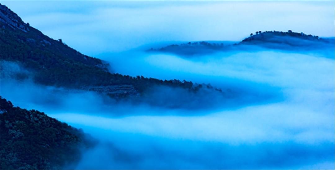 平流雾下的岛城