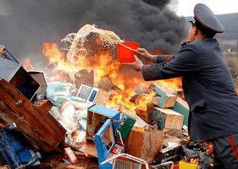 去年惠州查处假冒伪劣产品5.17亿元,判刑28人