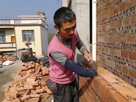 永州独臂建筑工人:每日砌砖10小时只为孙女读书