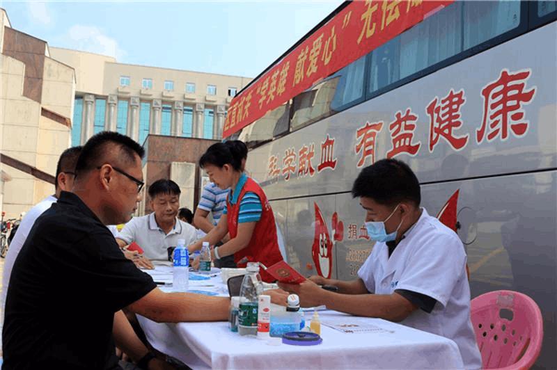 18年献出血量达4个成年人!惠州司法警察刘建军太有爱