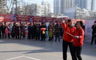邯郸:新春庙会重温传统文化记忆